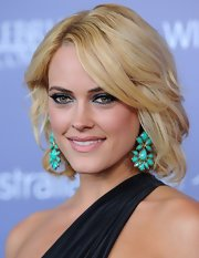 Peta Murgatroyd was stylishly coiffed with this short wavy 'do at the Australians in Film Breakthrough Awards.