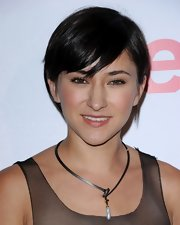 Zelda Williams wore her hair short with side-swept bangs at the 2011 Teen Vogue Young Hollywood party.