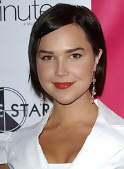 Arielle Kebbel sported a simple bob at the Glamour Gurlz/J-Gurlz launch.