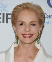 Carolina Herrera attended the 'Unforgettable Evening' benefit wearing her usual short 'do.