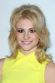 Pixie Lott channeled Brigitte Bardot with this sexy half-up style at the Shard launch party.