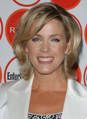 Deborah Norville looked stylish with her layered razor cut at the Entertainment Weekly pre-Emmy party.