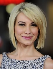 Chelsea Kane gave us hair envy with this stylish graduated bob at the premiere of 'Safe Haven.'