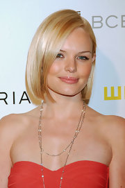 Kate Bosworth kept it classic with this sleek bob at the Whitney Contemporaries Art Party.