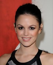 Rachel Bilson kept it minimal with this classic bun at the 'Waiting for Forever' premiere.