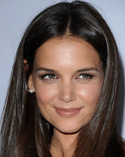 Katie Holmes kept it classic with a pair of pearl studs at the premiere of 'Don't Be Afraid of the Dark.'