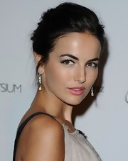 Camilla Belle looked gorgeous (as always) with her mildly messy updo at the Art of Elysium Gala.