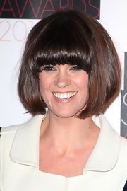Dawn O'Porter wore her hair in a retro bob at the Elle Style Awards.