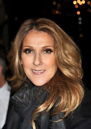 Celine Dion wore her hair in a feathered flip while out and about in Paris.