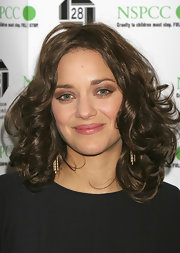 Marion Cotillard was gorgeously coiffed with bouncy, high-volume curls during the London Critics Circle Film Awards.