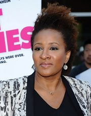 Wanda Sykes went edgy with this messy, curly 'do at the premiere of 'Hot Flashes.'