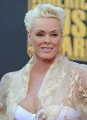 Brigitte Nielsen rocked a sculpted fauxhawk at the 2008 American Music Awards.