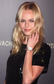 Kate Bosworth showed off her Vacheron Constantin diamond watch during the brand's collection launch.