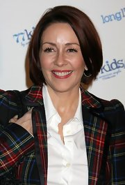 Patricia Heaton looked stylish with her bouncy bob at the launch of 77Kids.