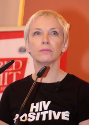 Annie Lennox wore her signature pixie at the World Summit of Nobel Peace Laureates.