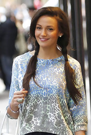 Michelle Keegan was spotted in Manchester rocking a huge statement ring.