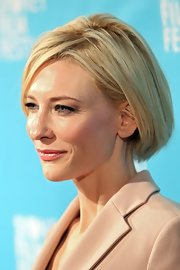 Cate Blanchett kept it classic with this bob at the 2011 Sydney Film Festival screening of 'Hanna.'