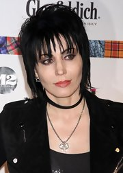 Joan Jett attended the Dressed to Kilt fashion show wearing a super-edgy razor cut.