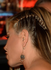 Jennifer Aniston attended Spike TV's Guys Choice wearing pearl chandelier earrings.