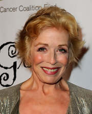 Holland Taylor went for a messy hairstyle at the Les Girls 9 event.