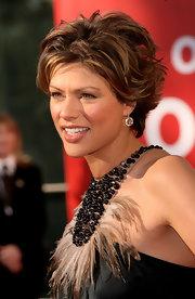 Kate Silverton looked trendy with her razor cut at the 2009 BAFTA Television Awards.