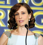 Vera Farmiga looked glam with her curly bob at the 2010 Cecil B. DeMille Award announcement.
