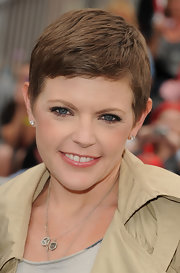 Natalie Maines looked cute and airy with her pixie cut at the premiere of 'Pirates of the Caribbean: On Stranger Tides.'