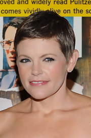 Natalie Maines sported a breezy pixie cut at the AMPAS & United States Postal Service ceremony.