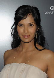 Padma Lakshmi looked darling with her half-up waves at the screening of 'A Single Man.'