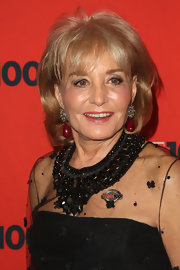 Barbara Walters attended Time's 100 Most Influential People in the World event wearing her hair in a bob with wispy bangs.