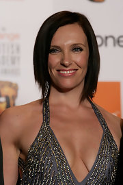 Toni Collette looked cool with her choppy bob at the Orange British Academy Film Awards.