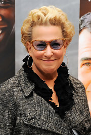 Bette Midler sported brushed-back curls at the screening of 'The Intouchables.'