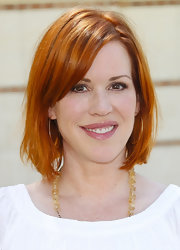 Molly Ringwald rocked a chic graduated bob at the 2013 LA Times Festival of Books.