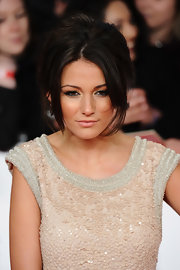Michelle Keegan went retro with this beehive at the National Television Awards.