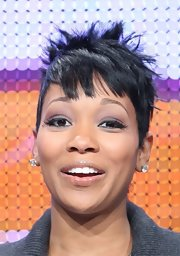 Monica rocked spiked hair at the 2009 Summer TCA Tour.