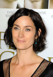 Carrie-Anne Moss kept it sweet with this curly bob at the premiere of 'Fireflies in the Garden.'