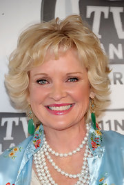 Christine Ebersole styled her hair into a layered razor cut with baby bangs for the 2011 TV Land Awards.