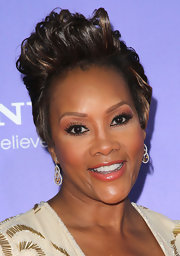 Vivica A. Fox rocked a sky-high fauxhawk at the premiere of 'Sparkle.'