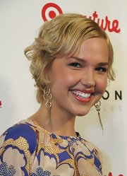Arielle Kebbel looked vintage-chic with her short curls at the launch of the Target Couture line.