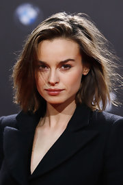 Kasia Smutniak attended the 'Die Vierte Macht' world premiere wearing her hair in a messy bob.