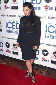 Kim Kardashian showed us an alluring way to rock a skirt suit with this black Dolce & Gabbana set.