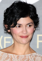 Audrey Tautou rocked a tousled pixie at the 'Coco Avant Chanel' press conference.