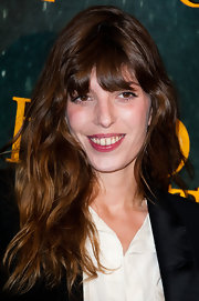 Lou Doillon wore her tresses down with tousled waves during the 'Hugo Cabret 3D' premiere.