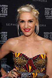 Gwen Stefani was edgy-cute at the Sephora celebration of Fashion's Night Out wearing this braided updo.