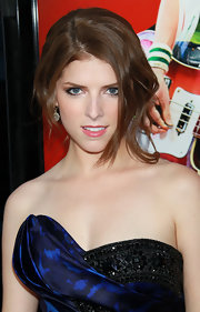 Anna Kendrick went for sexy styling with this messy updo during the 'Scott Pilgrim' premiere.