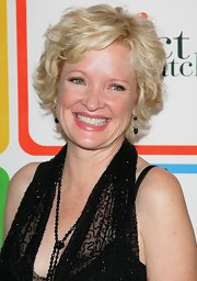 Christine Ebersole wore her hair in a razor cut at the Entertainment Weekly Must List party.