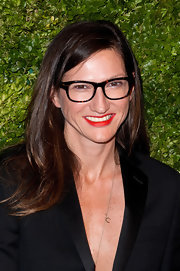 Jenna Lyons kept it laid-back with this loose side-parted 'do at the CFDA/Vogue Fashion Fund Awards.