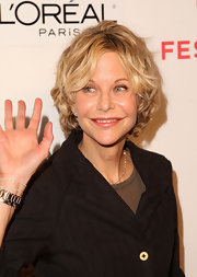 Meg Ryan sported her usual curly bob at the Tribeca Film Festival premiere of 'Serious Moonlight.'