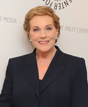 Julie Andrews sported a textured short hairstyle while attending a Paley Center for Media event.