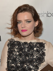 Roxane Mesquida looked sweet and elegant with her curled-out bob at the Nylon Young Hollywood issue party.